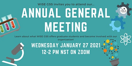 WISE GSS Annual General Meeting 2021 tickets