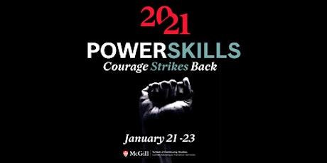 PowerSkills Sommet virtuel de carrière de niveau supérieur 2021 tickets