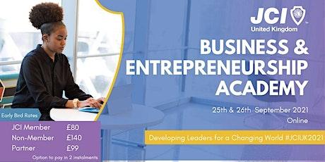 Business & Entrepreneurship Academy tickets