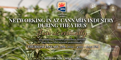 Networking in the Cannabis Industry during the virus in Arizona tickets