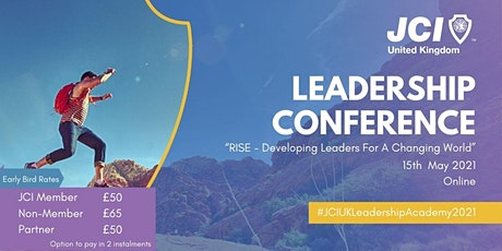 "RISE Leadership Conference ""Developing Leaders For A Changing World"" entradas"