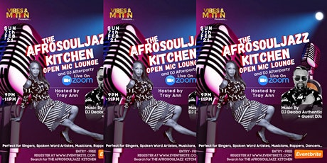 The AfroSoulJazz Kitchen tickets