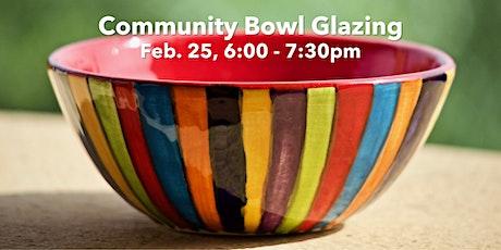Bowl Glazing Workshop I tickets