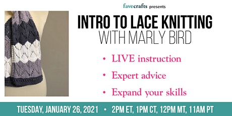Intro to Lace Knitting tickets