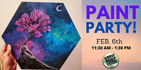 Cherry Blossom Paint Party! tickets