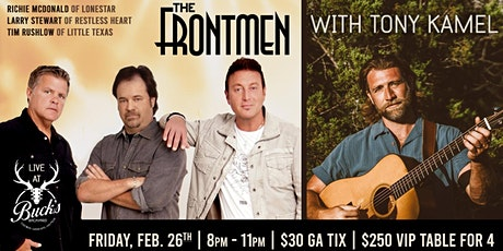 The Frontmen Of Country tickets