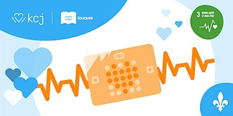 Enseignant·e·s: Célébrez votre coeur et la santé avec le micro:bit! billets