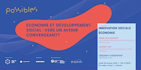 Possibles : Innovation sociale + Économie billets