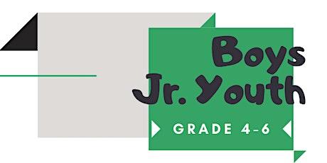 Jr. Youth  - BOYS WEEK tickets