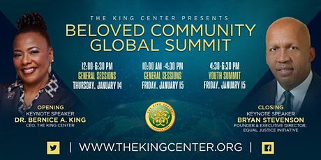 2021 King Holiday Observance Beloved Community Global Summit tickets