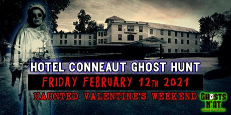 Valentine's Weekend Ghost Hunt & Stay at the Hotel Conneaut Fri. Feb. 12th tickets