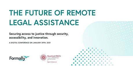 THE FUTURE OF REMOTE LEGAL ASSISTANCE tickets