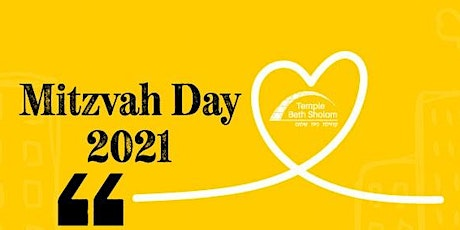 Mitzvah Day 2021 tickets