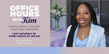 Office Hours With Kim tickets