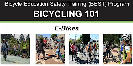 Bicycling 101: E-Bikes – Online Video Class tickets