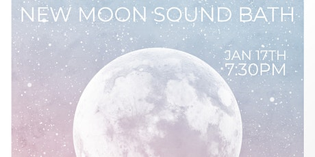 New Moon Sound Bath - Ringing in the New tickets