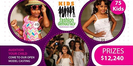 Fashion Week NY Virtual Audition Kids  4-8yrs tickets