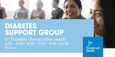 Frederick Health Diabetes Support Group tickets