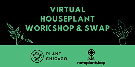 Virtual Houseplant Workshop & Swap tickets