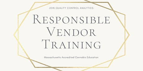 Massachusetts Responsible Vendor Training- Morning Sessions tickets