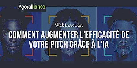 WebInAction : Comment augmenter l'efficacité de votre pitch grâce à l'IA ? billets