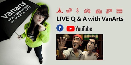 LIVE Q&A with VanArts - CAREER NIGHT: Animation tickets