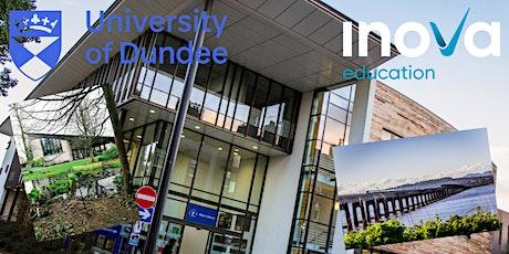 Estudia en Escocia en la Universidad de Dundee, sesión informativa en línea entradas