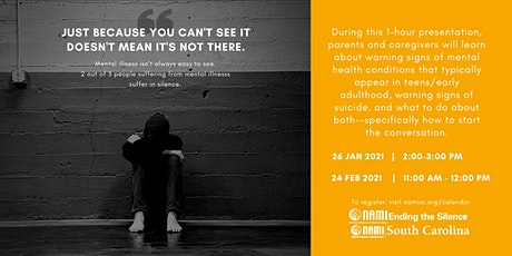 Ending the Silence | Mental Health Presentation for Families tickets