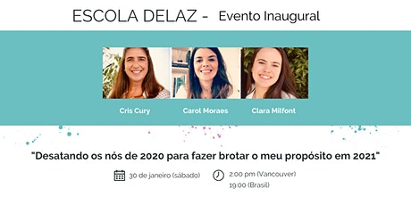 Evento Inaugural da Escola Delaz tickets