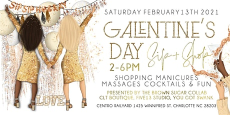 Galentine's Day Sip & Shop tickets