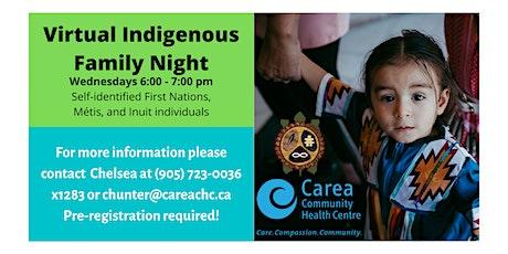 Virtual Indigenous Family Night - Jan 20, 2021 tickets