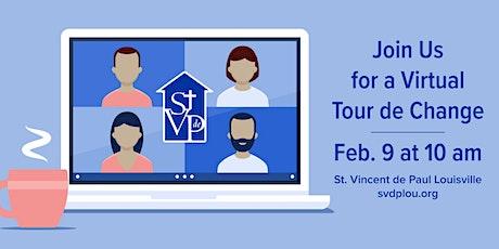 February Virtual Tour de Change tickets