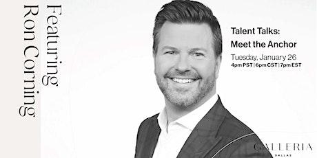 Talent Talks: Ron Corning tickets
