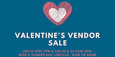 Valentine's Pop Up Sale tickets