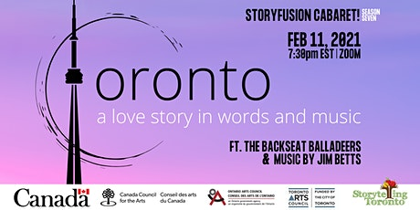 Toronto, a love story in words and music tickets