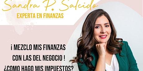 ¡Mezclo mis finanzas con las del negocio! ¿Cómo hago mis impuestos? entradas
