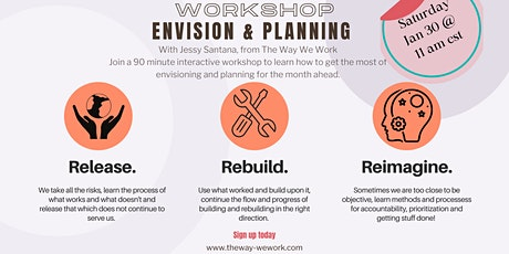 Envision and Planning Monthly Workshop tickets