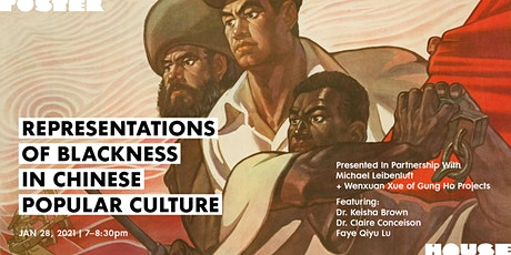 Representations of Blackness in Chinese Popular Culture tickets