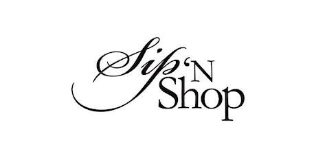 Sip N' Shop tickets