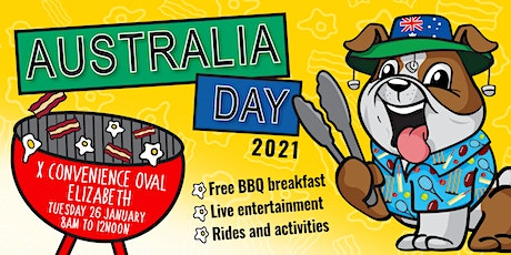 City of Playford Australia Day 2021 tickets