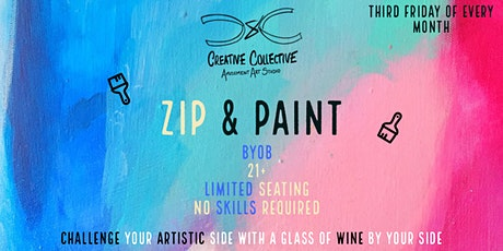 Zip & Paint tickets