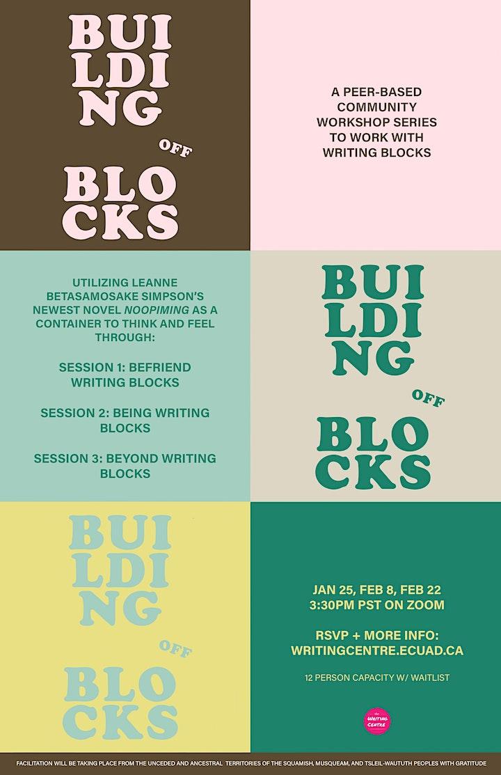 Building off Blocks: A Peer-based Workshop Series for Writing Blocks image