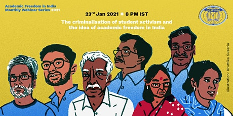 Criminalisation of Student Activism & the Idea of Academic Freedom in India tickets