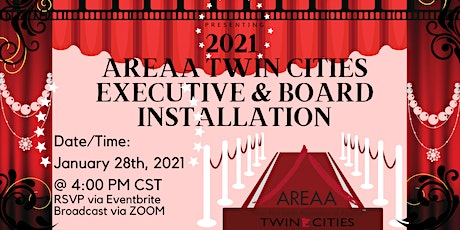 2021 AREAA TWIN CITIES EXECUTIVE & BOARD INSTALLATION tickets
