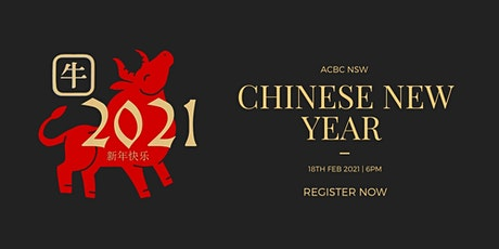ACBC NSW Chinese New Year Dinner tickets