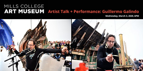 Artist Talk + Performance: Guillermo Galindo tickets