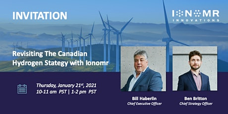 Revisiting The Canadian Hydrogen Strategy with Ionomr tickets