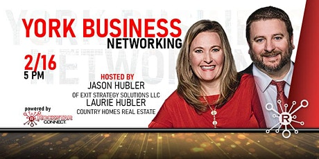 Free York Business Networking Event (February, PA) tickets
