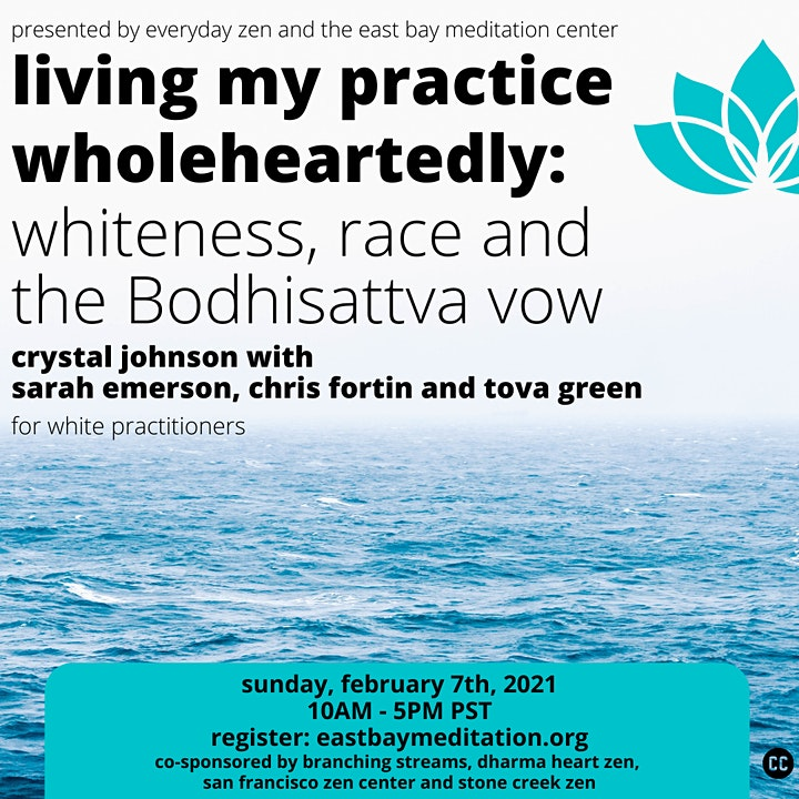 Living My Practice Wholeheartedly: Whiteness, Race and the Bodhisattva Vow image