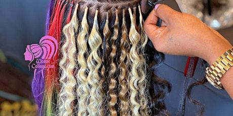 Newark NJ   Hair Extension Class & Micro Link Class tickets